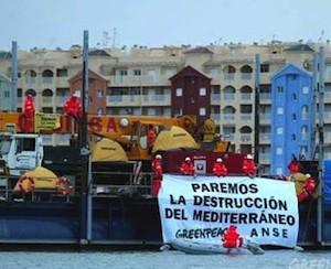 Greenpeace: campaña contra la destrucción del Mediterráneo