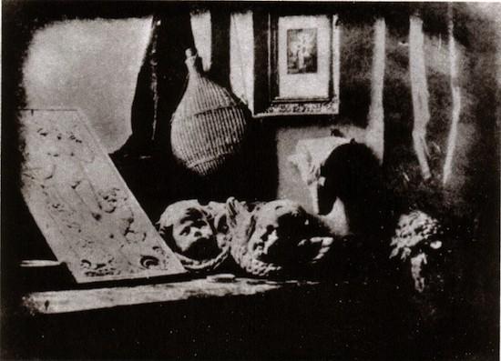 Daguerrotipo. Daguerre, Estudio, 1837