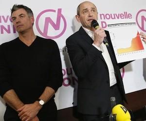 Pierre Larrouturou en la presentación de Nouvelle Donne