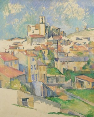 Cezanne: Gardanne, 1886. Metropolitan-Museum