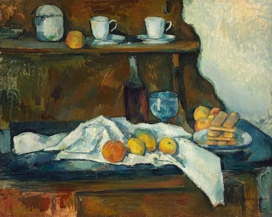 Cezanne: aparador, 1877-1879. Szepmuveszeti Muzeum