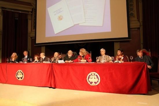 Mesa de presentación del manifiesto por la III República. Foto: Juanjo de la Peña