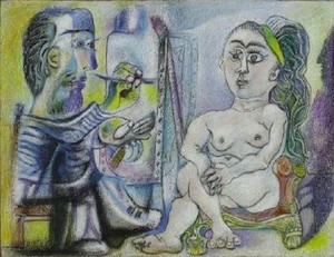 Picasso: el pintor y la modelo
