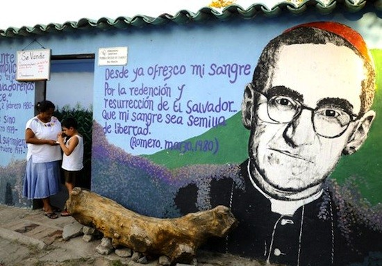 Oscar Arnulfo Romero mural