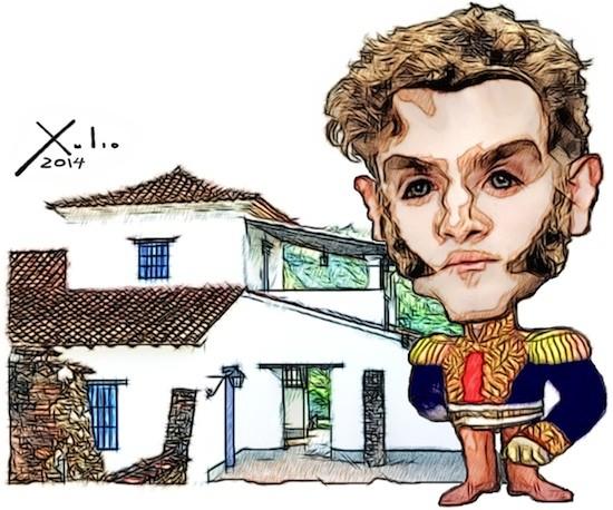 Xulio Formoso: Antonio Ricaurte