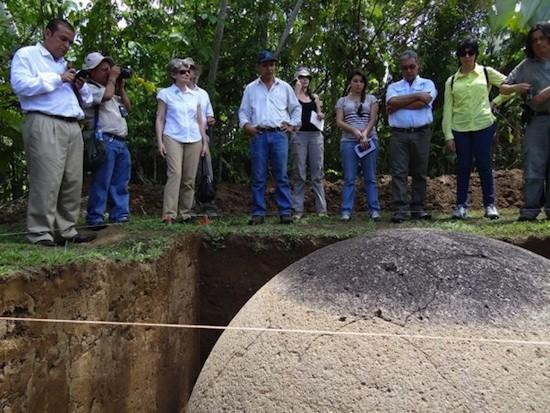 Foto extraída de nota de prensa de Redcultura.com (Costa Rica) con ocasión de visita de la directora General de la UNESCO Irina Bokova a Costa Rica en el mes de mayo del 2013.
