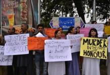 """Protestas en Pakistan por los """"crimenes de honor"""" contra mujeres"""