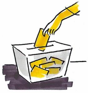 """""""Vayamos a votar y pongamos a cada uno en su sitio. Si nos quedamos en casa ganarán los de siempre. Seguro."""""""