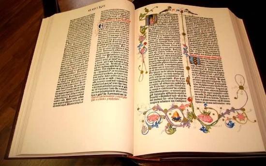 Biblia de Gutenberg Biblioteca del Congreso: la Ciudad de los libros en Washington