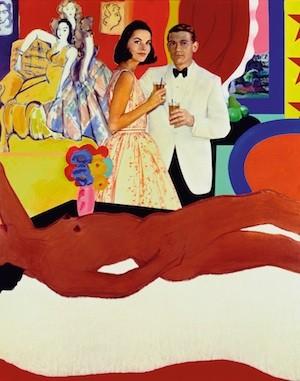 Tom Wesselmann. Gran desnudo americano n 52, 1963. Acrílico, tela y collage de papel impreso sobre table 152,3x121,9 cm. Museu Coleçao Berardo, Lisboa. © Estate of Tom Wesselmann, Vegap, Madrid.