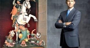 El señor Santiago y Felipe VI
