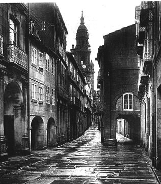 Luís Ksado. Rúa del Villar, Santiago
