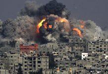 Bombardeo sobre Gaza en 2014