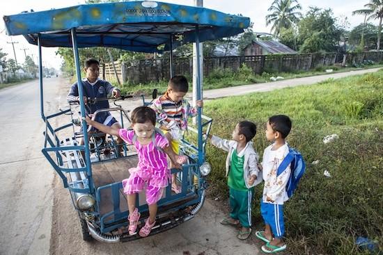 Mal Sot, Tailandia (C) Nicholas Axelrod / Sipa Press