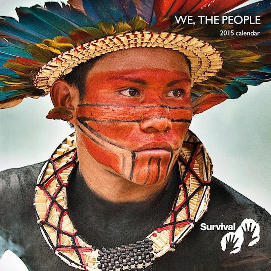 La bella imagen de un joven de la tribu asurini de Tocantins se alzó con el primer puesto del concurso. © Giordano Cipriani / Survival International