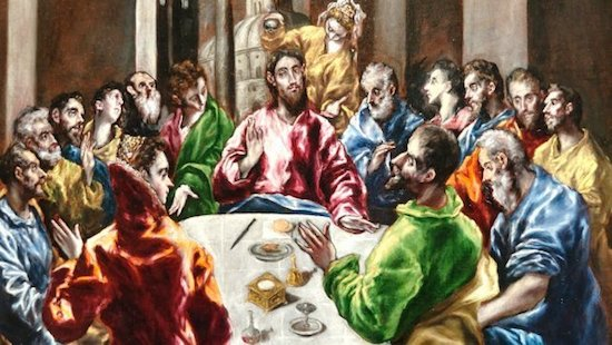 El Greco: cena en casa de Simón