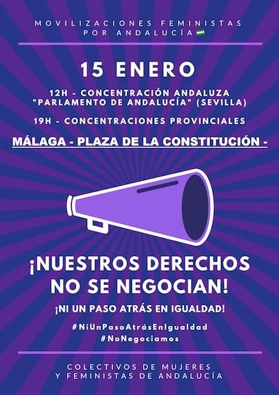 Andalucía 15ENE mujeres
