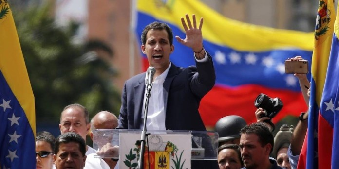 Juan Guaidó mitin Caracas ENE2019