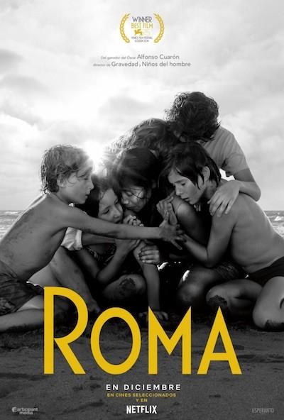 Roma Cuaron poster