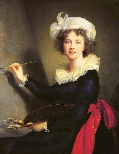 Elisabeth Vigee le Brun, autorretrato