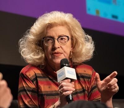 Marzenna Adamczyk en la presentación de TIFE 2019. Foto Institut Français Madrid