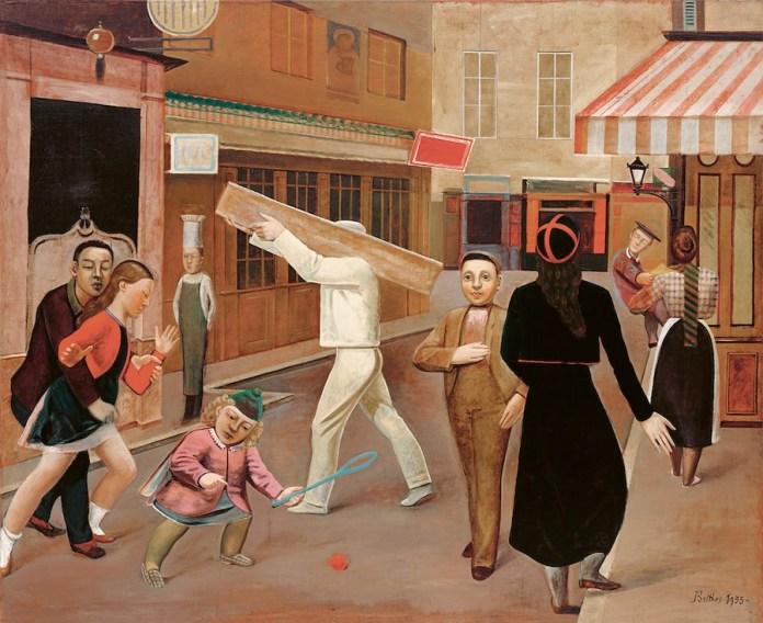 Balthus: La calle