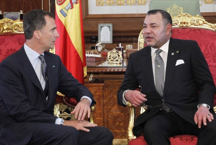 Felipe VI con Mohamed VI en Rabat FEB2019