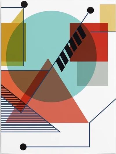 Poster de Kandinsky para la Bauhaus