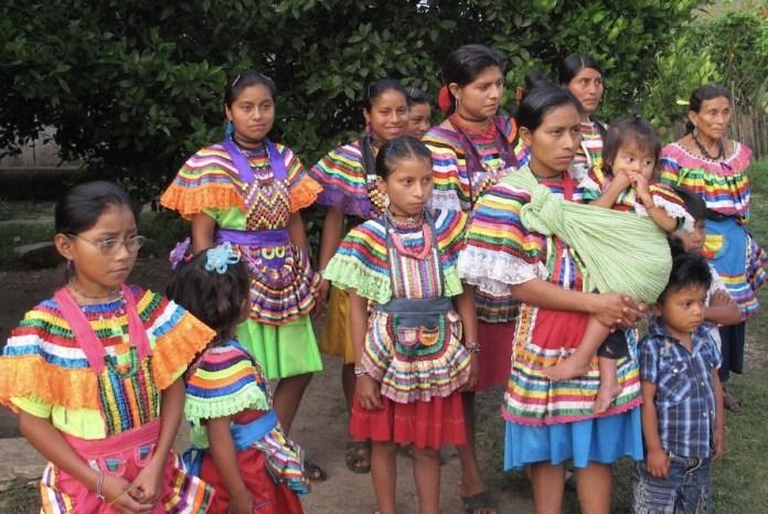 Mujeres mayas en Chiapas