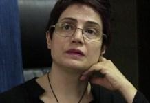 Nasrin Sotoudeh, abogada defensora de los derechos humanos en Irán