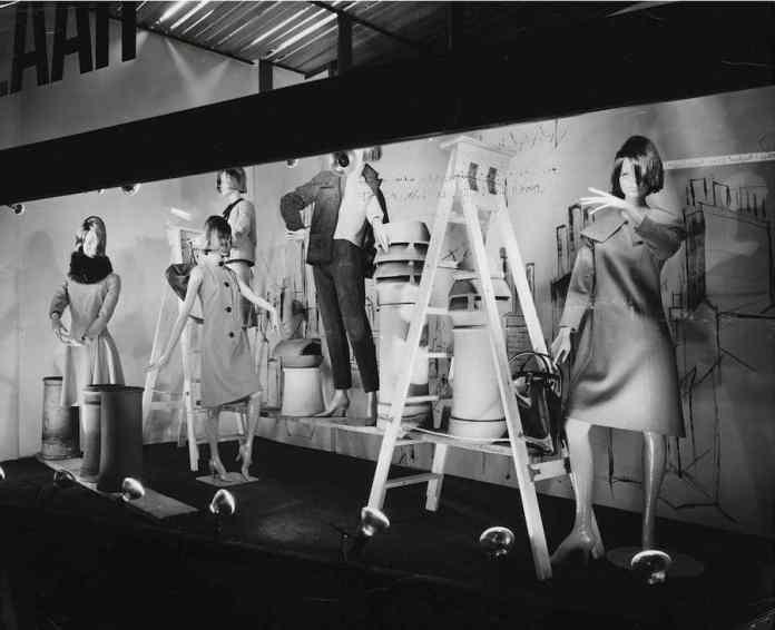 Bazar, Knightsbridge, escaparate, alrededor de 1961. Mary Quant Archive