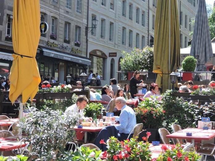 ABianco Ginebra Centro histórico restauracion
