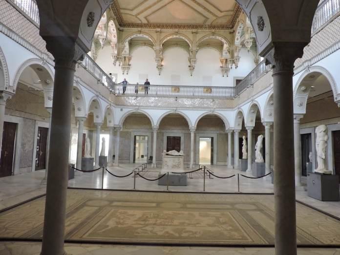 Adriana Bianco: museo Bardo de Túnez