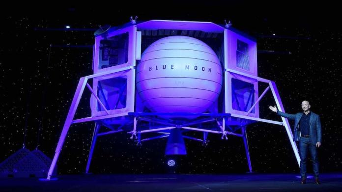 Jeff Bezos presenta Blue Moon