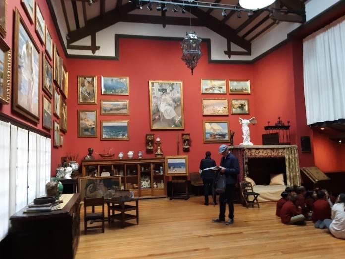 Casa museo Sorolla Madrid descanso