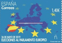 Correos sello PE 2019
