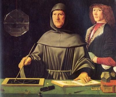 Luca Pacioli Nápoles Jacopo de Barbari