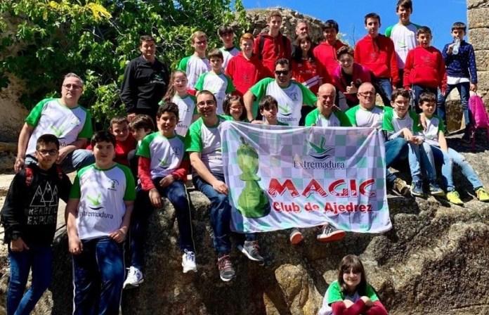 Miembros del club Magic Extremadura