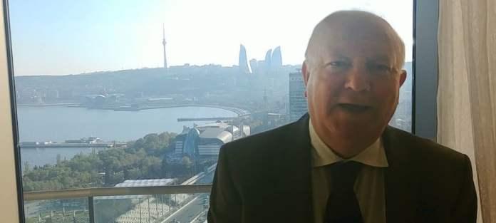 Noticias ONU/Elizabeth Scaffidi Miguel Angel Moratinos, alto representante de la Alianza de Civilizaciones, en Baku, Azerbaiyán.