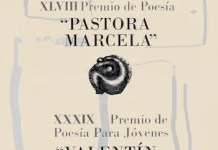 Preio poesía Pastora Marcela 2018
