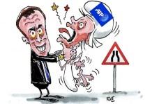 Viñeta de Rust sobre la privatización de la AFP. Abril de 2019