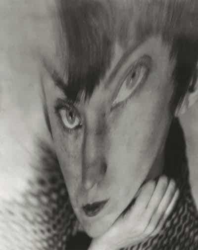 Berenice Abbott autorretrato distorsión 1930