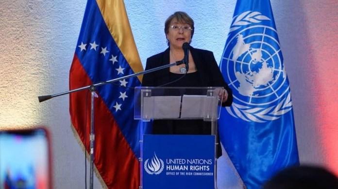 Bachelet Caracas 21JUN2019
