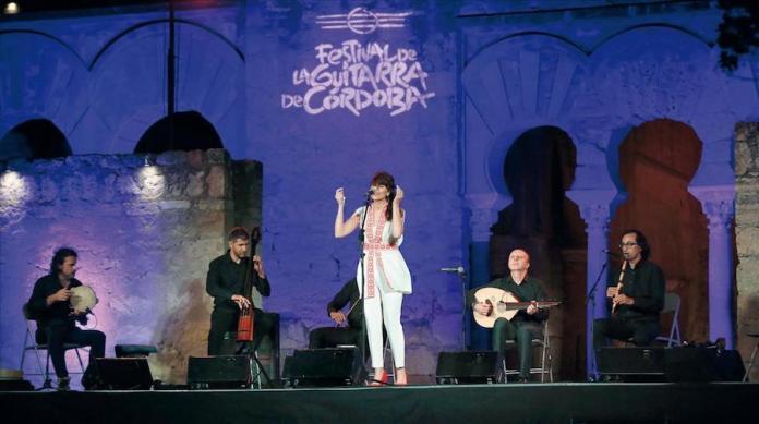 Concierto dedical a las Damas Árabes de la canción en Medina Azahara, JUL2019
