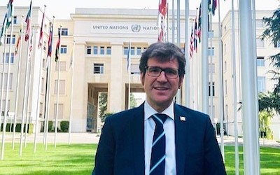 Gorka Urtarán en Ginebra 2019