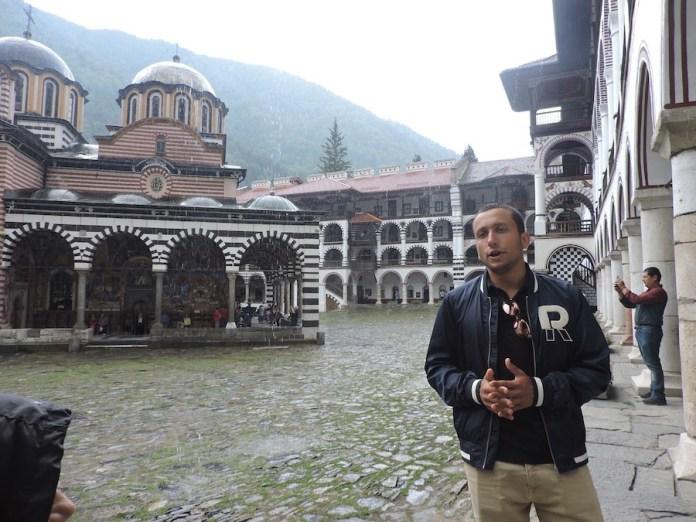 Monasterio de Rila guía Anton Medievev