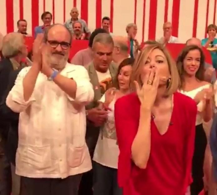 """Pepa Fernández en la despedida del programa """"No es un día cualquiera"""" de RNE"""