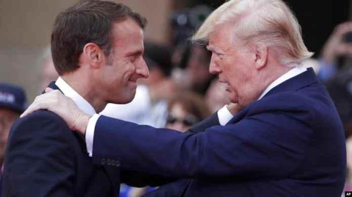 Macrón recibe a Trump en la cumbre del G/ de Biarritz