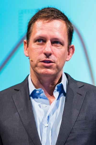 Peter Thiel, fundador de PayPal y director general de Wikipedia