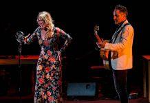 Rocío Márquez y Jorge Drexler en Flamenco on Fire 2019 en Pamplona